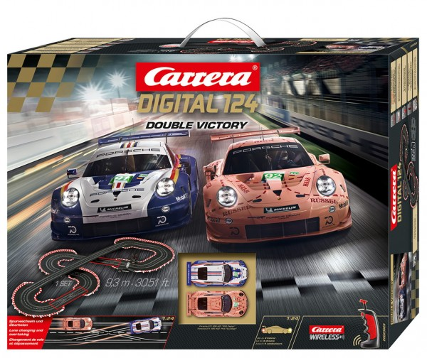 Carrera digital 124 - Porsche Double Victory (23628)