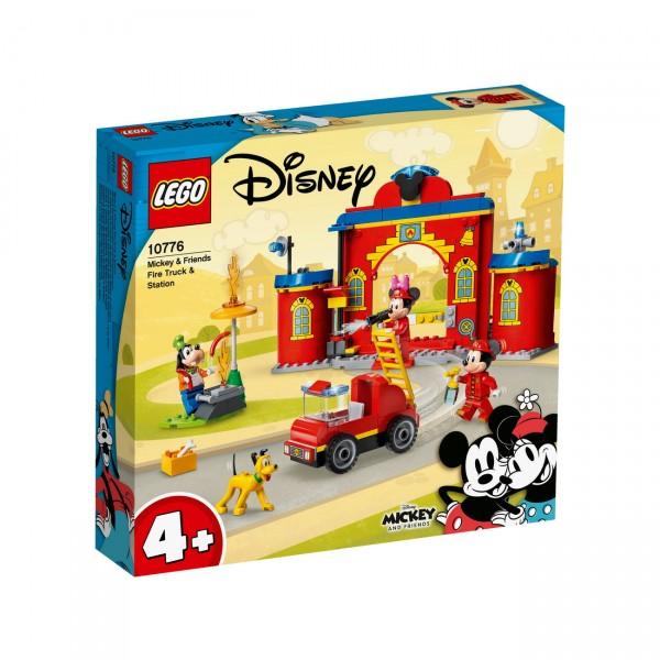 LEGO Disney 10776 - Mickys Feuerwehrstation und Feuerwehrauto