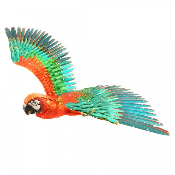 Metal Earth - ICONX - Papagei - Parrot - Modell