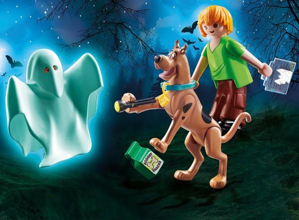 Playmobil 70287 - SCOOBY-DOO! Scooby & Shaggy mit Geist