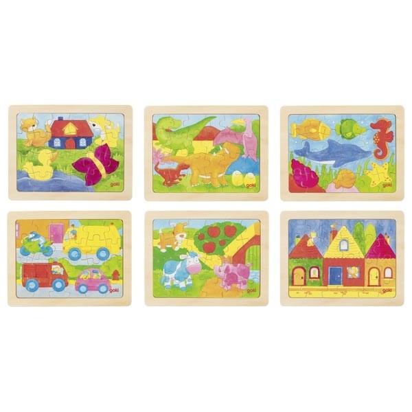 Einlegepuzzle 1000 Farben sort (goki 57700)