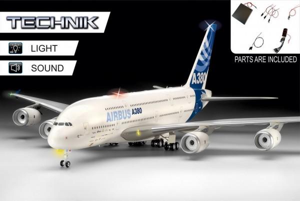 Revell 00453 - Airbus A380-800 - Technik