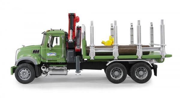 BRUDER 02824 - MACK Granite Holztransport-LKW