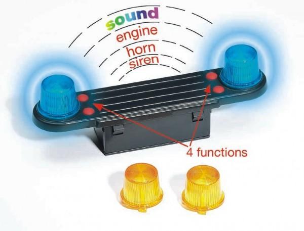 BRUDER 02801 - Zubehör: Light and Sound Modul (trucks)
