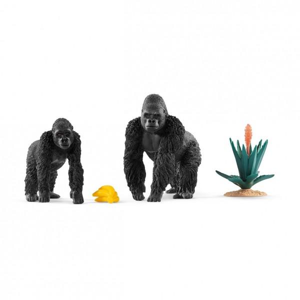 Gorillas auf Futtersuche - Schleich (42382) Wild Life