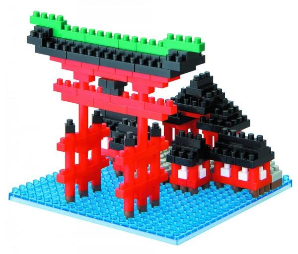 Nanoblock - Tor des Itsukushima Schrein (14095)