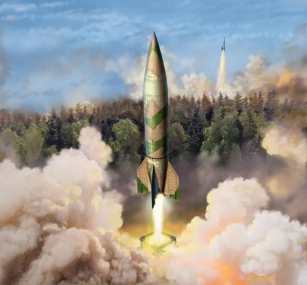 Revell 03309 - V2 / A4 Rakete Modell