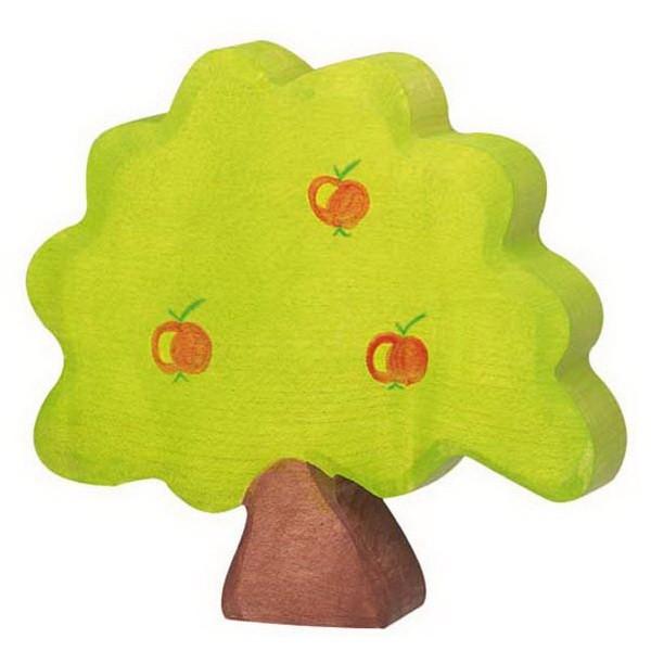 Holztiger kleiner Apfelbaum (80217)