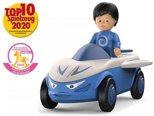 SIKU 0107 - Toddys - Mike Moby - Auto blau grau