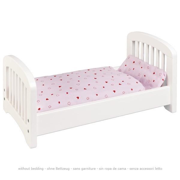 Puppenbett weiß (goki 51734)