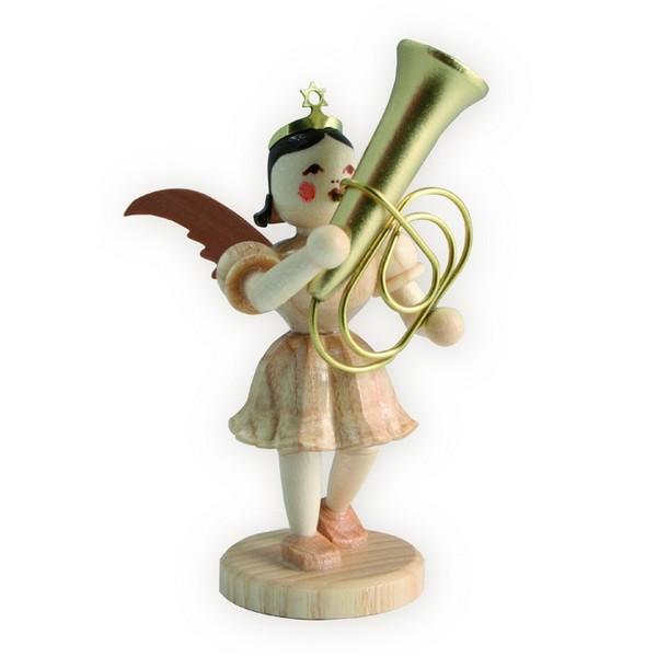 Blank Kurzrock-Engel mit Tuba