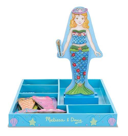 Magnetische Anziehpuppe Meerjungfrau