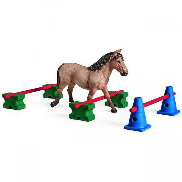 Pony Slalom - Schleich (42483) Farm World Figuren