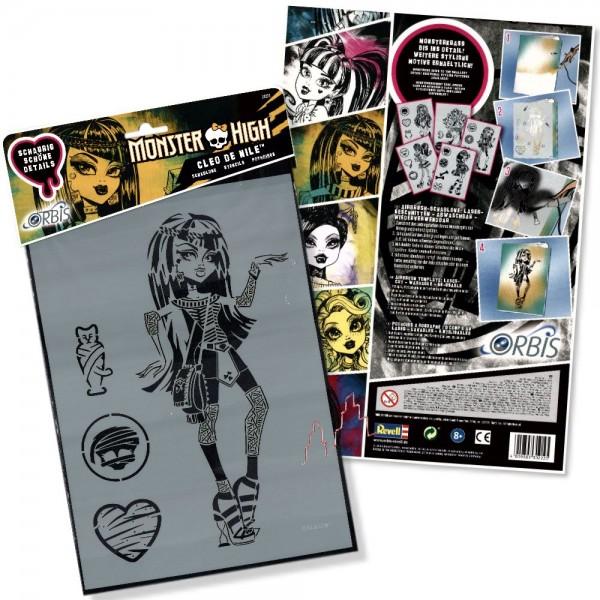 Orbis Schablone XL - Frankie Stein 30218 Monster High