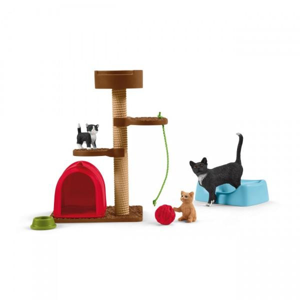 Spielspaß niedliche Katzen - Schleich 42501