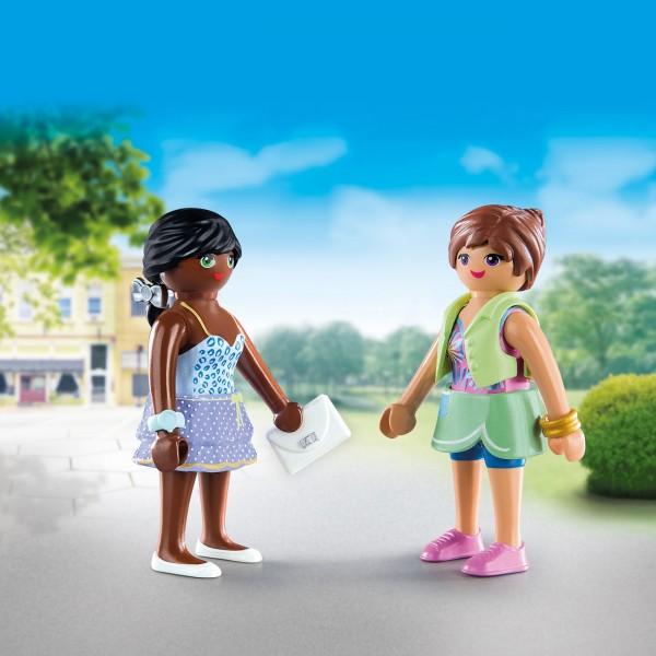 Playmobil 70691 - DuoPack Shopping Girls