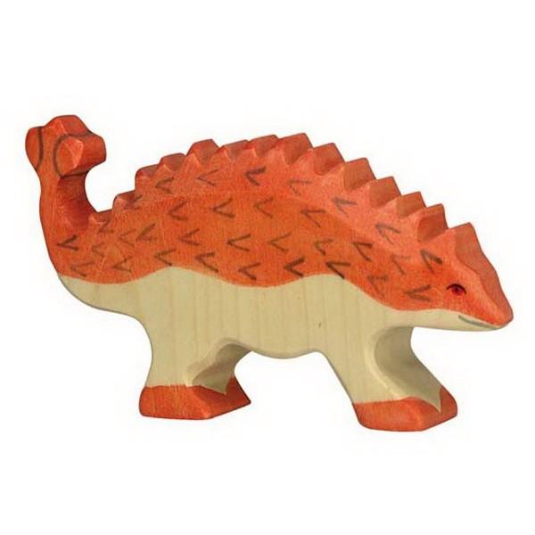 Holztiger Ankylosaurus (80341) Dinosaurier Figur