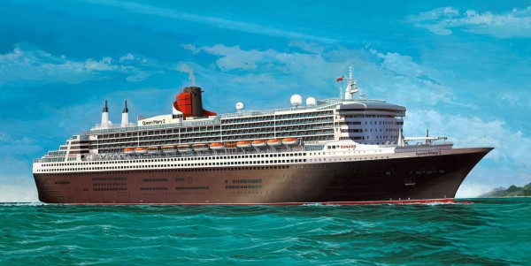 Revell 05199 - Queen Mary 2 - Platinum Edition