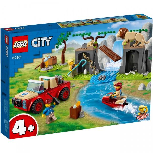 LEGO City 60301 - Tierrettungs-Geländewagen