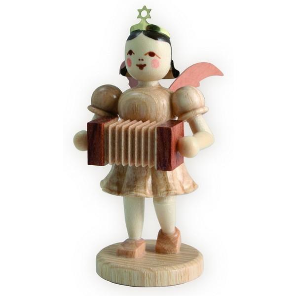 Blank Kurzrock-Engel mit Harmonika