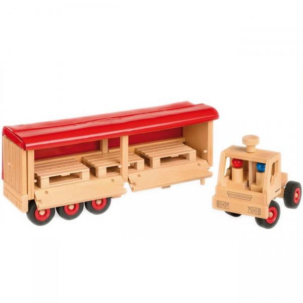 fagus Sattelschlepper (10-81) Holzspielzeug