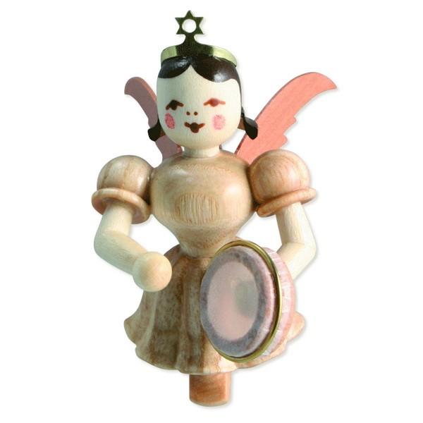 Schwebeengel mit Tamburin