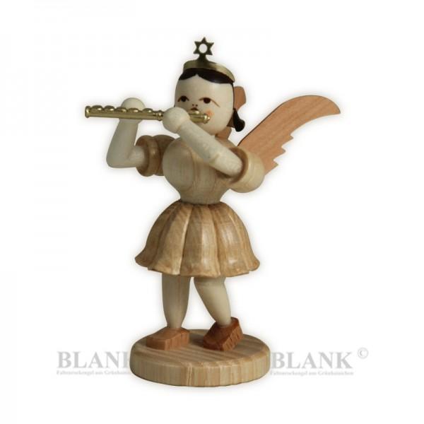 Blank Kurzrock-Engel mit Piccoloflöte