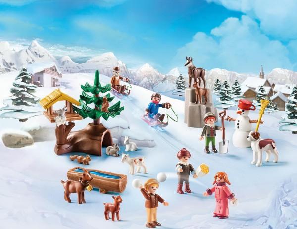 Playmobil 70260 - Adventskalender Heidis Winterwelt - Heidi