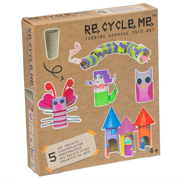 Re Cycle Me - Bastelspaß für 5 Modelle - Schmetterling