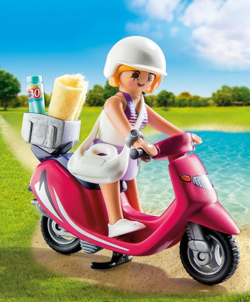 Playmobil 9084 - Strand Girl mit Roller (Special Plus)