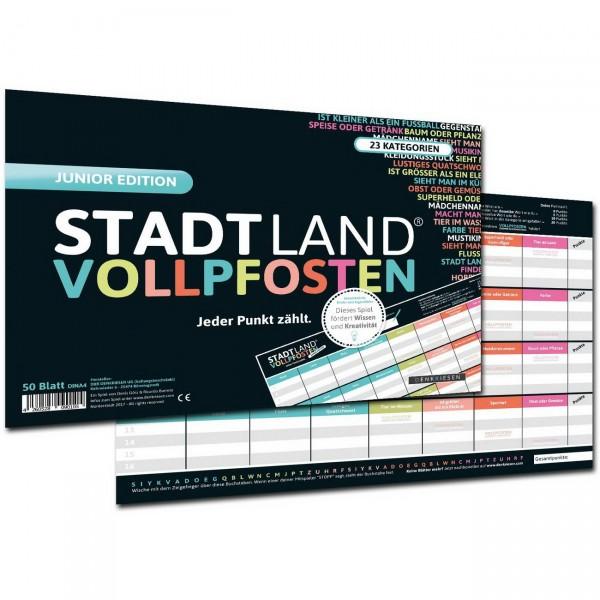 STADT LAND VOLLPFOSTEN - A4 Junior Edition (DENKRIESEN)