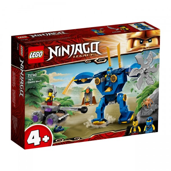 LEGO NINJAGO 71740 - Jays Elektro-Mech