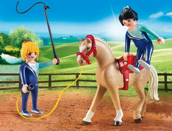Playmobil 6933 - Voltigier-Training (Country)