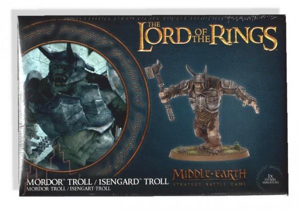 Games Workshop Mordor Troll - Der Herr der Ringe Figur
