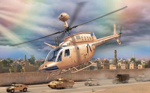 Revell 03871 - Bell OH-58 Kiowa Modell Helikopter