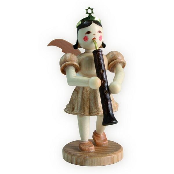 Blank Kurzrock-Engel mit Oboe