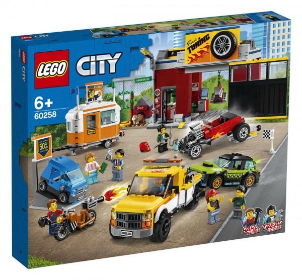 LEGO City - Tuning-Werkstatt - 60258