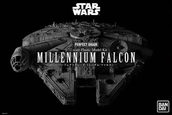 Millenium Falcon Perfect Grade - Ban Dai Modellbau