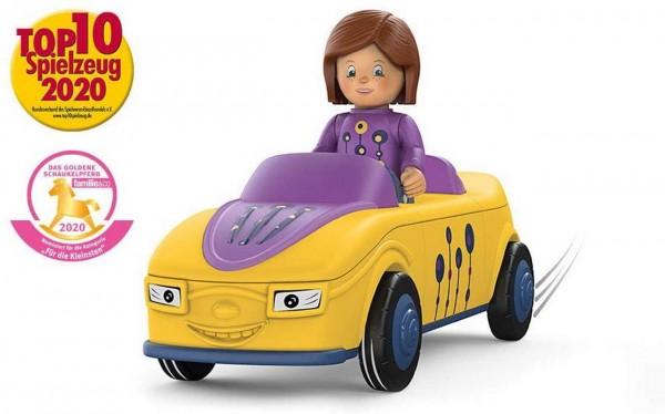 SIKU 0104 - Toddys - Zoe Zoomy - Auto gelb lila