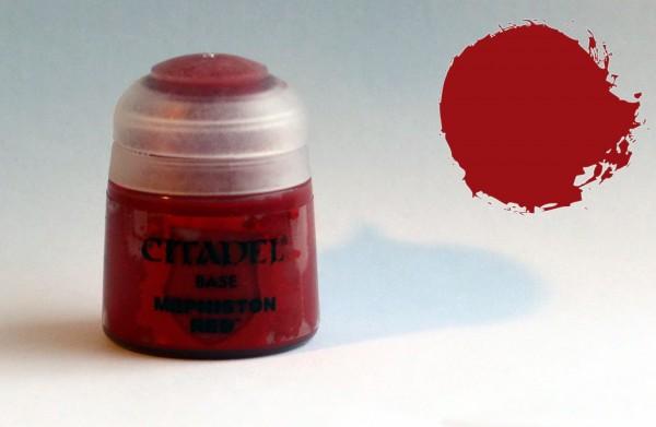 Citadel BASE Farbe - Mephiston Red - 21-03
