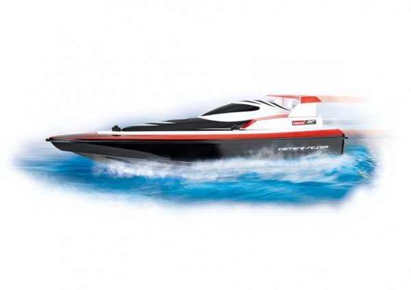Carrera R/C - Rotes Rennboot - Race Boat red (301010)