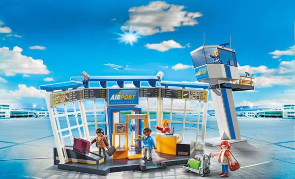 Playmobil 5338 - City-Flughafen mit Tower (City Action)