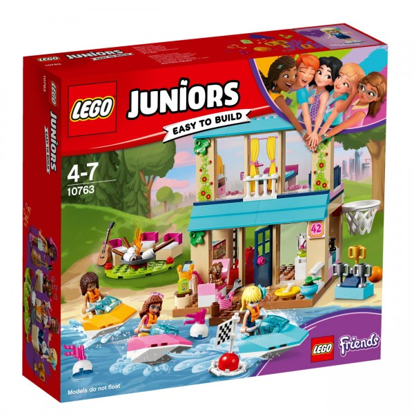 LEGO Juniors 10763 - Stephanies Haus am See