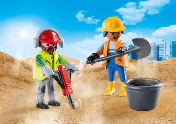 Playmobil 70272 - DuoPack Zwei Bauarbeiter