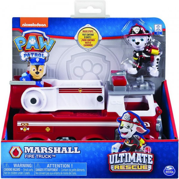 Marshall - Fire Truck - Paw Patrol Ultimate Rescue