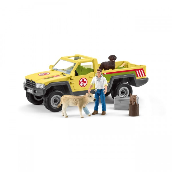 Tierarztbesuch auf Bauernhof - Schleich 42503