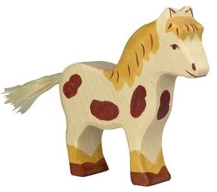 Holztiger Pony (80044)