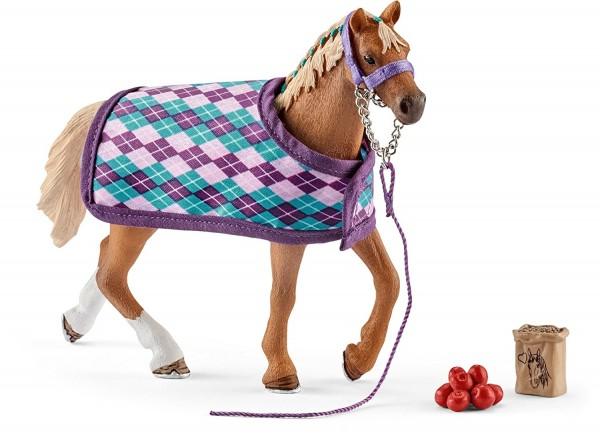Englisches Vollblut mit Decke - Schleich (42360) Horse Club