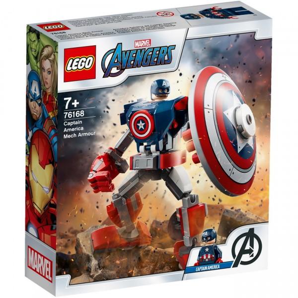 LEGO Marvel Super Heroes 76168 - Captain America Mech