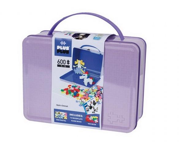 Plus-Plus - Pastell Box Metall Koffer 600 Teile (7003) - Bausteine kaufen